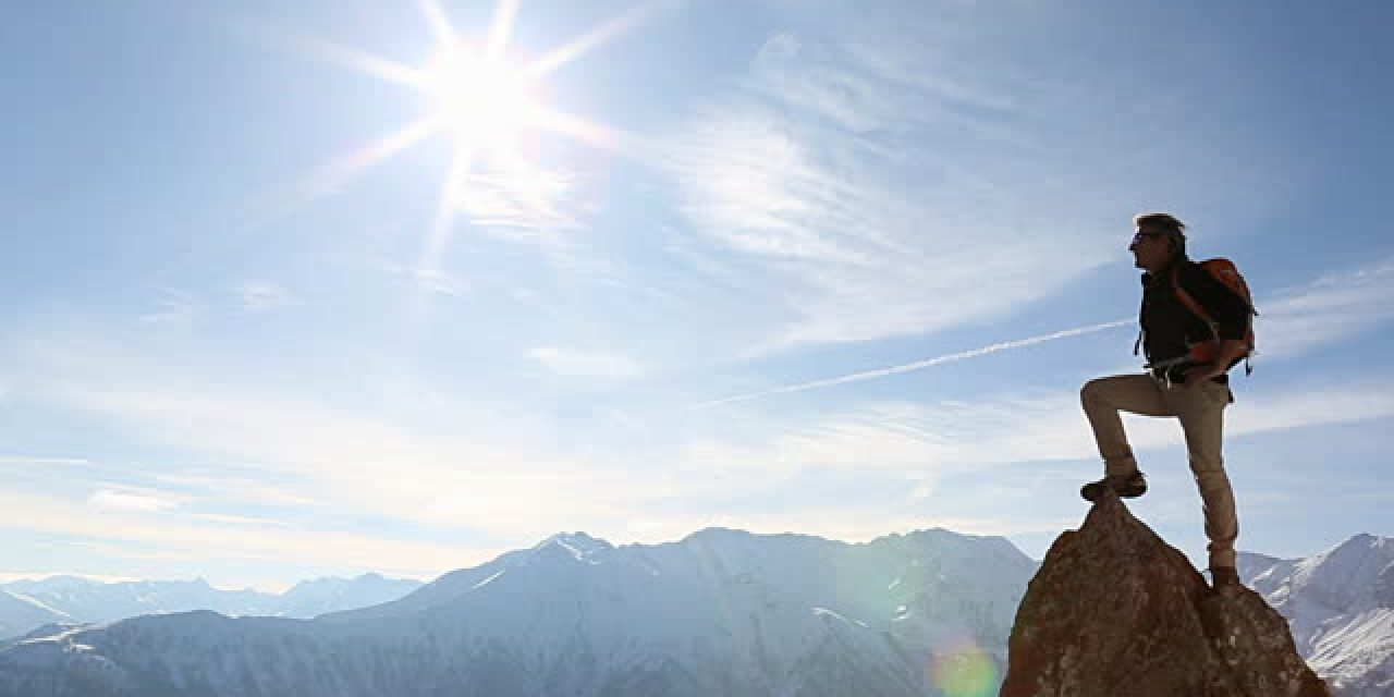 bergbeklimmer passie